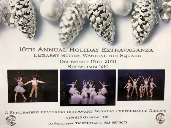 Holiday show poster website size